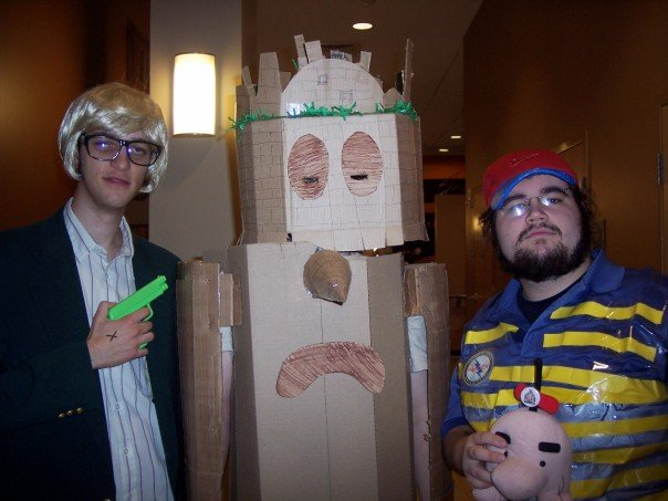 dungeon man ness and jeff costumes