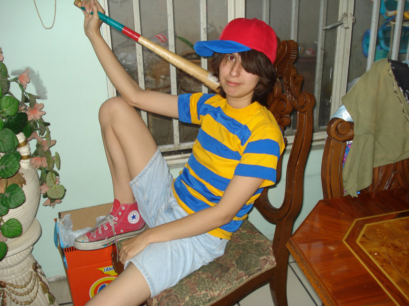 my ness costume by rosecloud