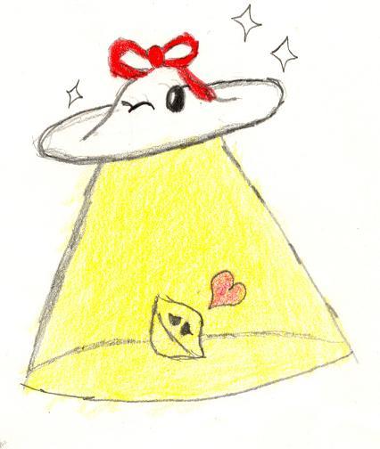 Cute Ufo Drawing Cute Lil' Ufo